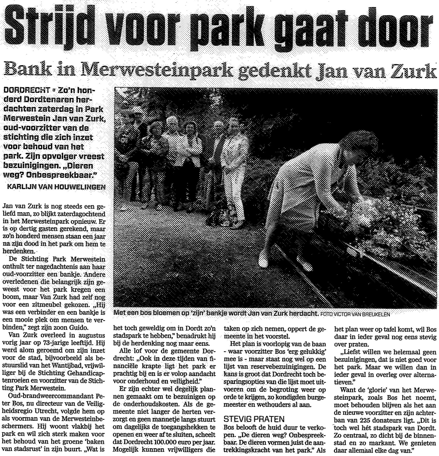 Algemeen Dagblad, 09-09-2013