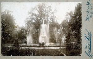 Fontein rond 1895