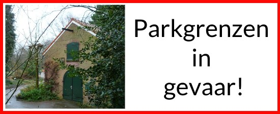 Minibanner website Parkgrenzen in gevaar