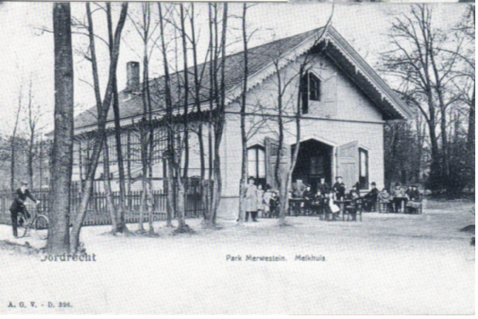 Melkhuis rond 1900