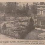 foto krantenartikel - braakliggende grond