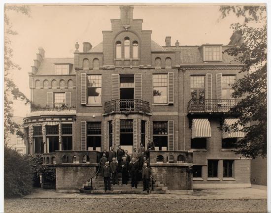 Villa Staring (Soekasari), als kantoor van Gemeentewerken, rond 1935