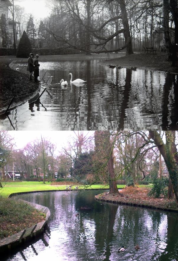 brugje Groenedijk richting villa 1930-2015_klein