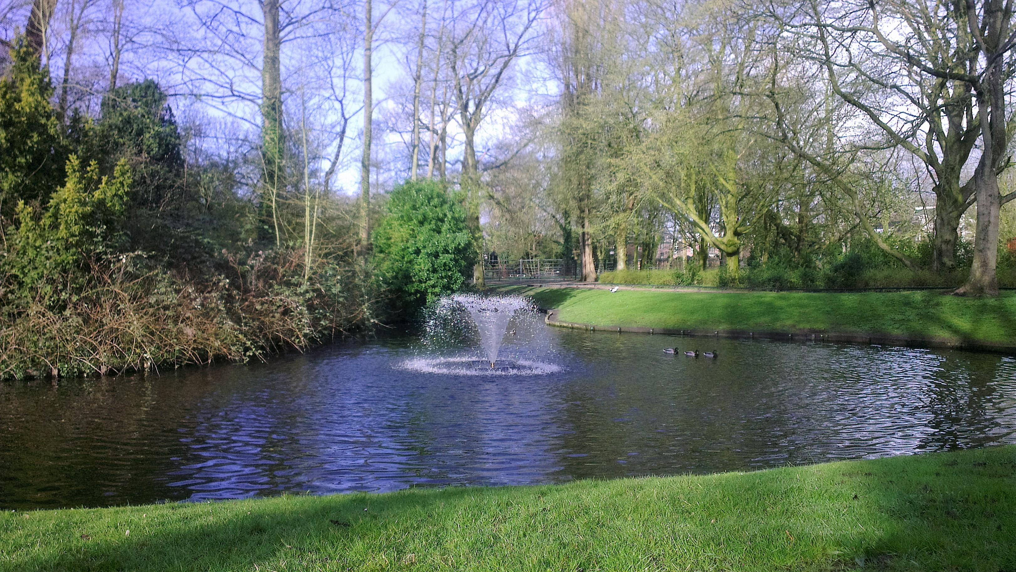 Kleine fontein