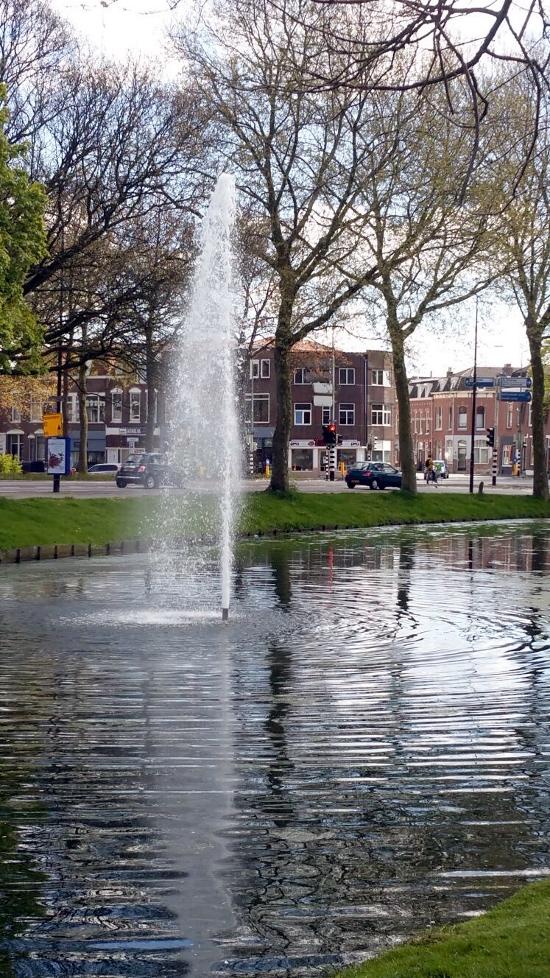 grote fontein rechtgezet