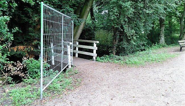 Hekken klaargezet voor rustzone damherten